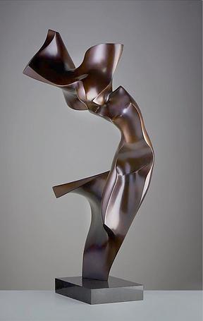 luxury contemporary bronze sculpture for interior design