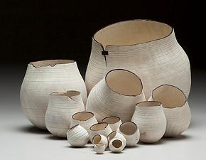 contemporary vase luxury decoration natural materials