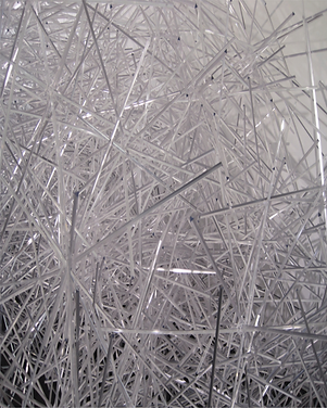 ice inspired contemporary sculpture installation