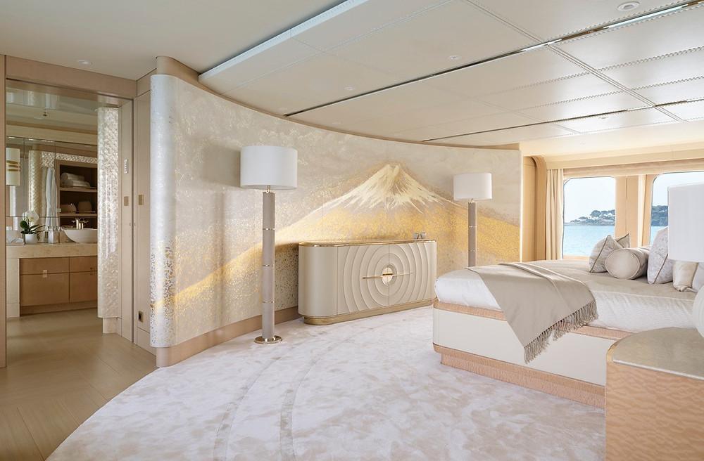 luxury yacht art