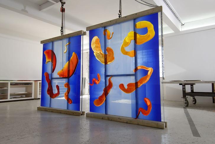 Danny Lane glass artist commission