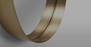 custom circular frame