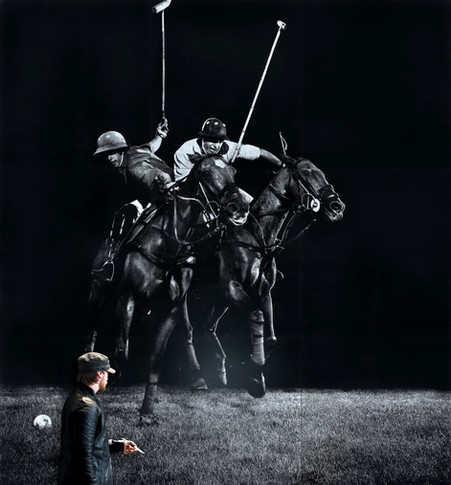 Mark Evans mural wall art commission
