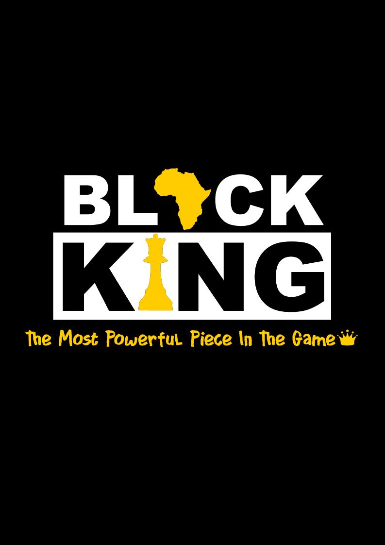 Black Man-King Piece