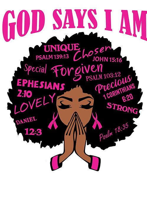 GOD SAY I AM ENOUGH!