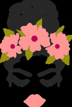 FloralMessyBun