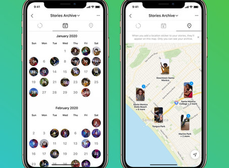 Instagram: como acessar o calendário e o mapa de Stories arquivados