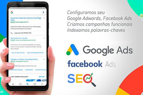 Ativação de Perfil e plataforma Google Adwards