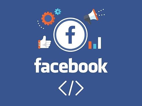 Ativação e Configuração de Pixel do Facebook