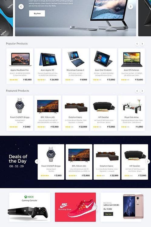 Criação de novo E-commerce e Carrinho de Compras
