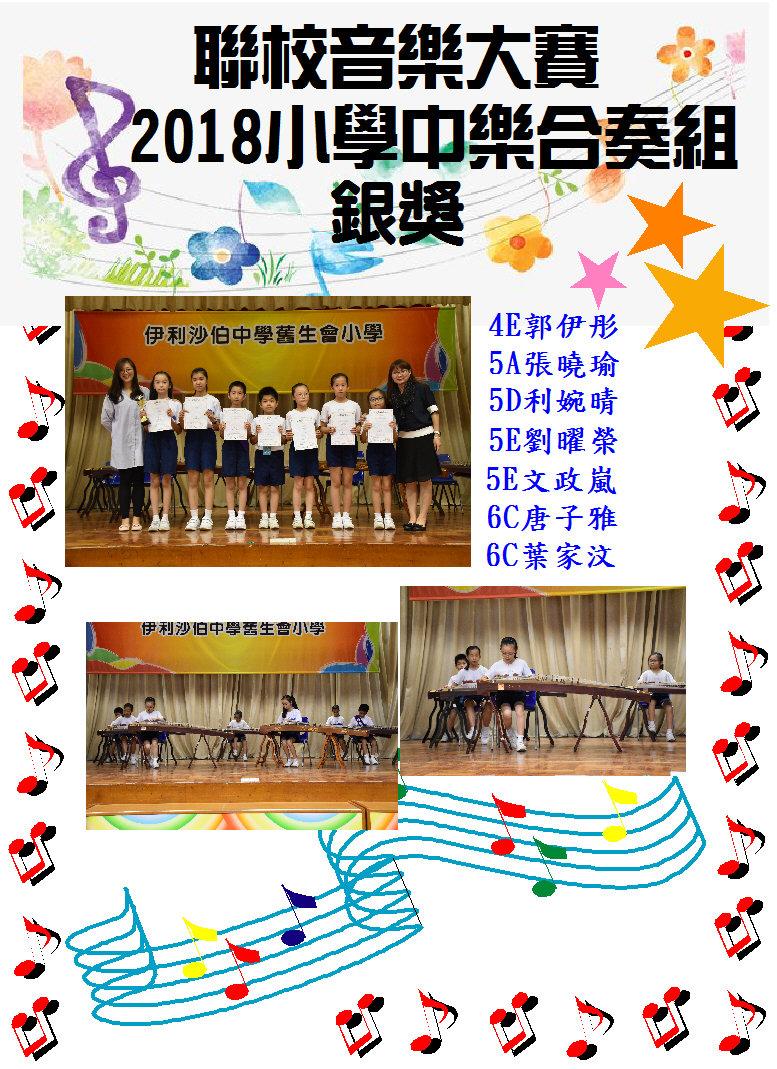 香港聯校音樂大賽2018