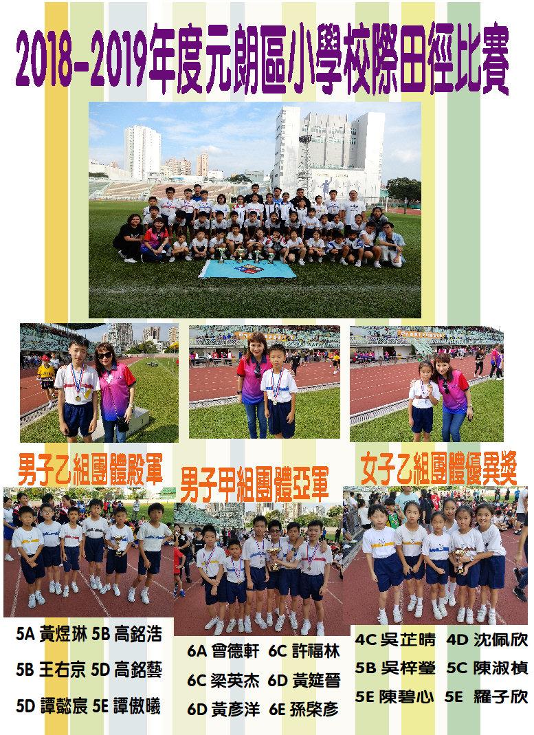 2018-2019年度元朗區小學校際田徑比賽