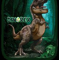 Estampa T Rex
