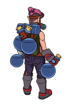 Robin Scarlet- Personagem Topia