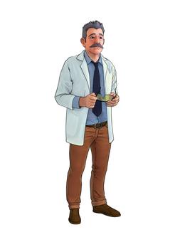 Personagem Dr. Euclides Char