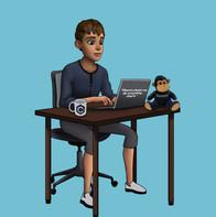 Mascote programador