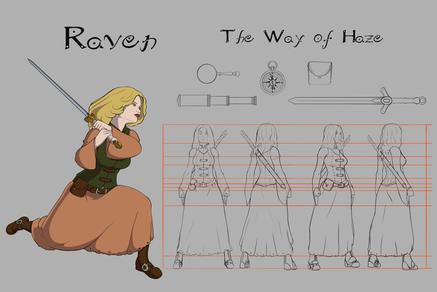 Personagem Raven