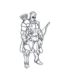 Personagem para jogo de RPG