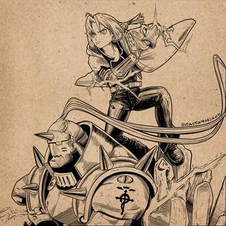 10- Fullmetal Alchemist