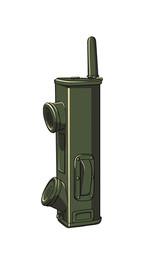 Telefone/rádio da segunda guerra
