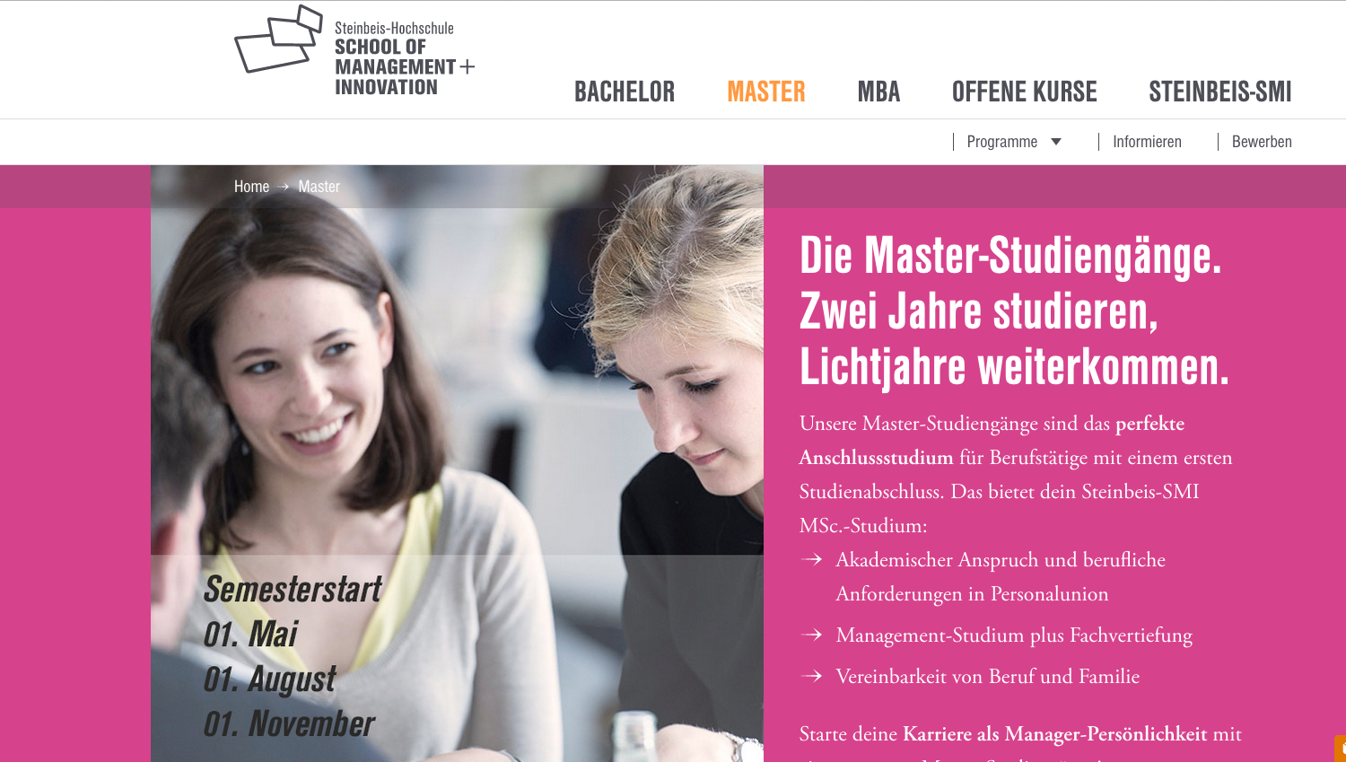 Steinbeis School of Management und I
