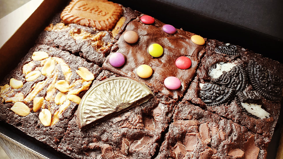 3rd May! Ultimate Selection Box - 6 Different Brownies!