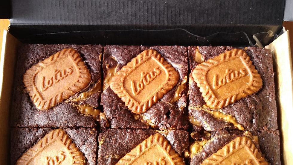 Biscoff Heaven - 6 Brownies!
