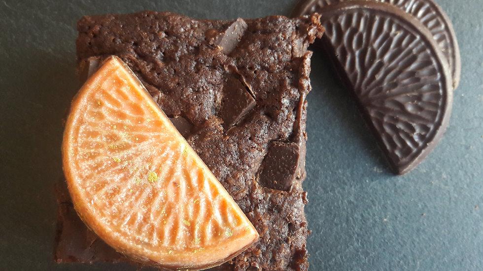 Overtly Orange - 6 Brownies!