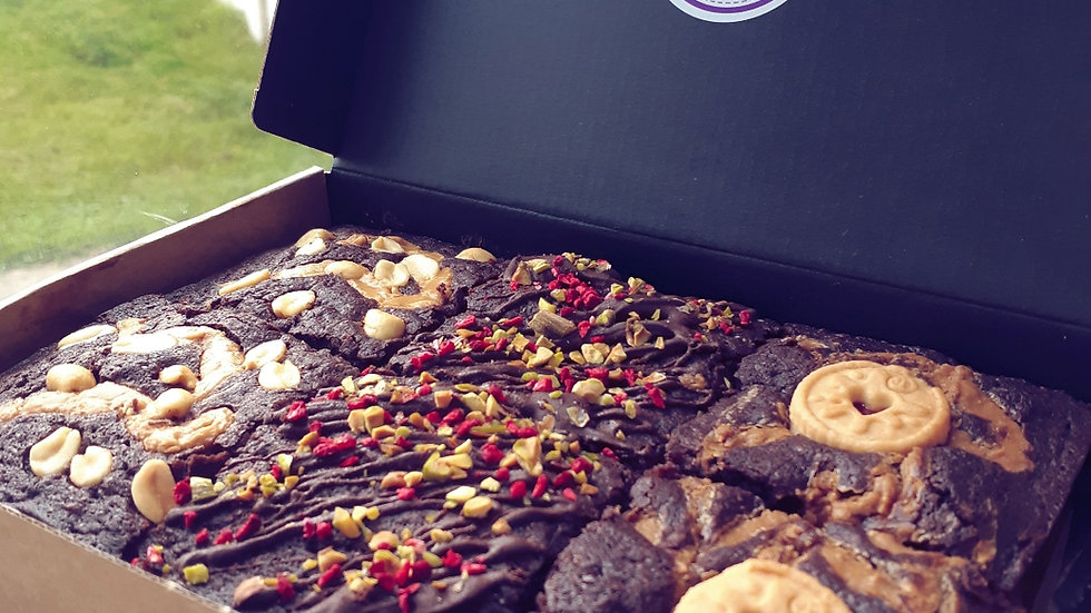 Soya Free Selection Box - 6 Brownies!