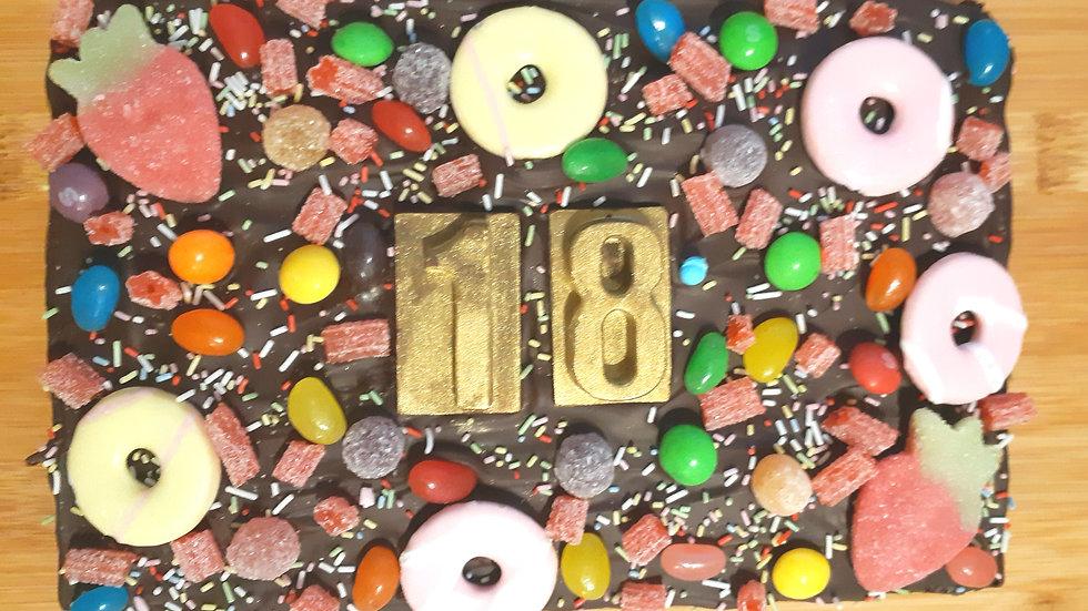 Mega Birthday Brownie!