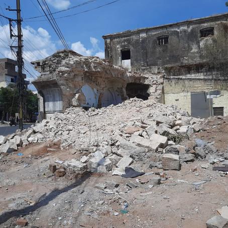 Amberpet Sarai Demolished