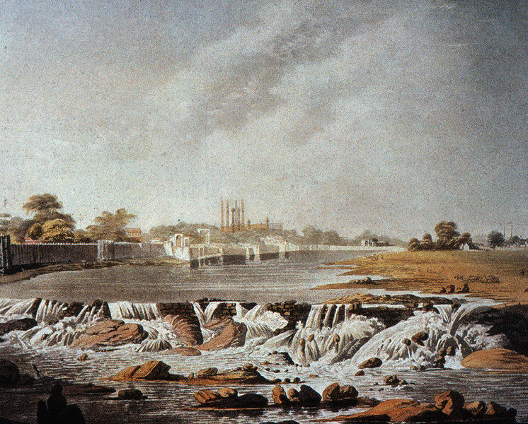 View from Chadarghat, Philip Meadows Taylor.