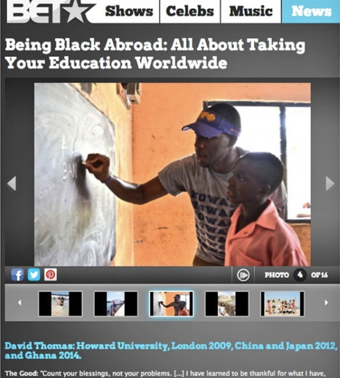 BET: Being Black Abroad Feature