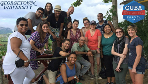 Georgetown Student Delegates in Cuba 2016