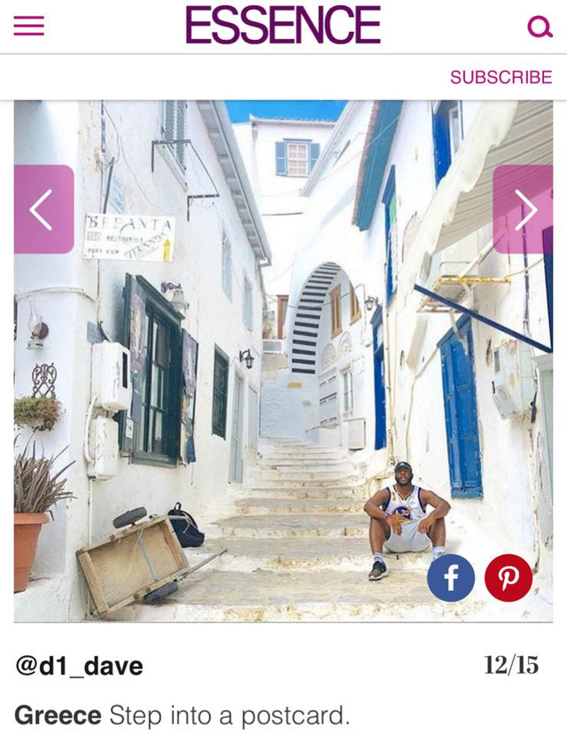 Essence Magazine Black Travel In Greece Feature