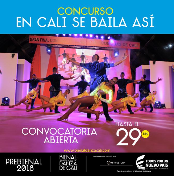 """Concurso """"EN CALI SE BAILA ASÍ"""""""