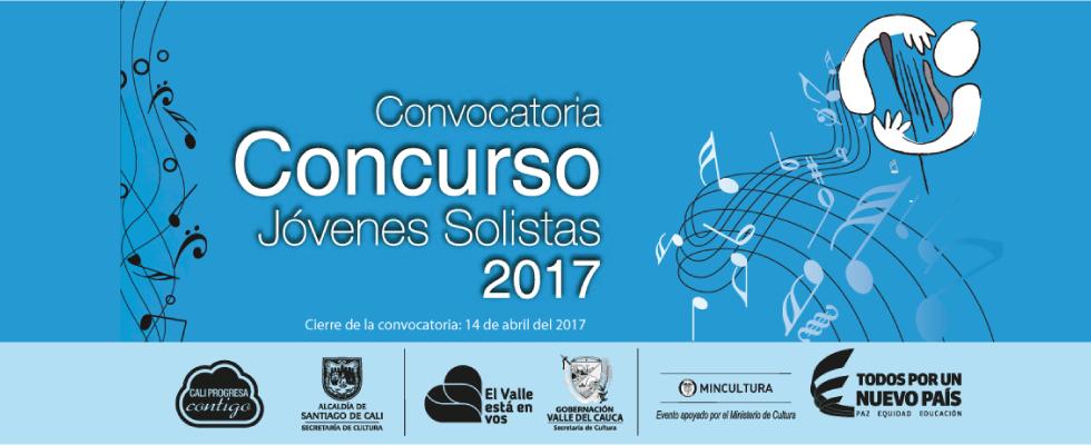 Convocatoria Concurso Jóvenes Solistas 2017