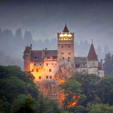 Bran castle night Romania Carpathian mountains  beautiful eastern europe medieval castles.jpg