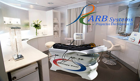 Equipment for beauty and physiotherapy treatments