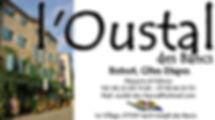 Carte de Visite Oustal Saint Joseph des Bancs