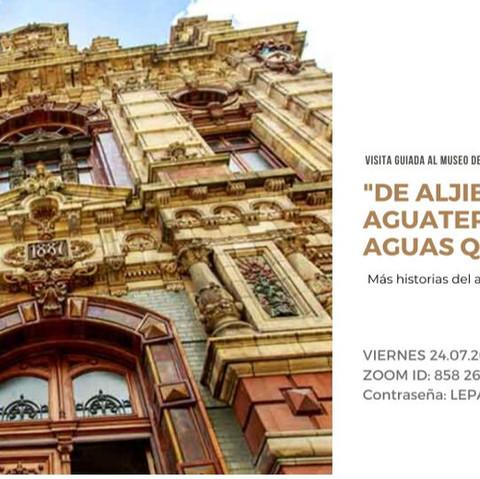 """""""DE ALJIBES, AGUATEROS Y AGUAS QUE SANAN"""""""