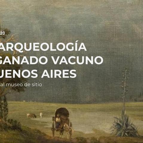 UNA ARQUEOLOGIA DEL GANADO VACUNO EN BUENOS AIRES