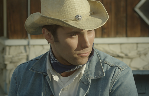 Film Still of Michael Massaad from the short film Lone Star of the character Ray