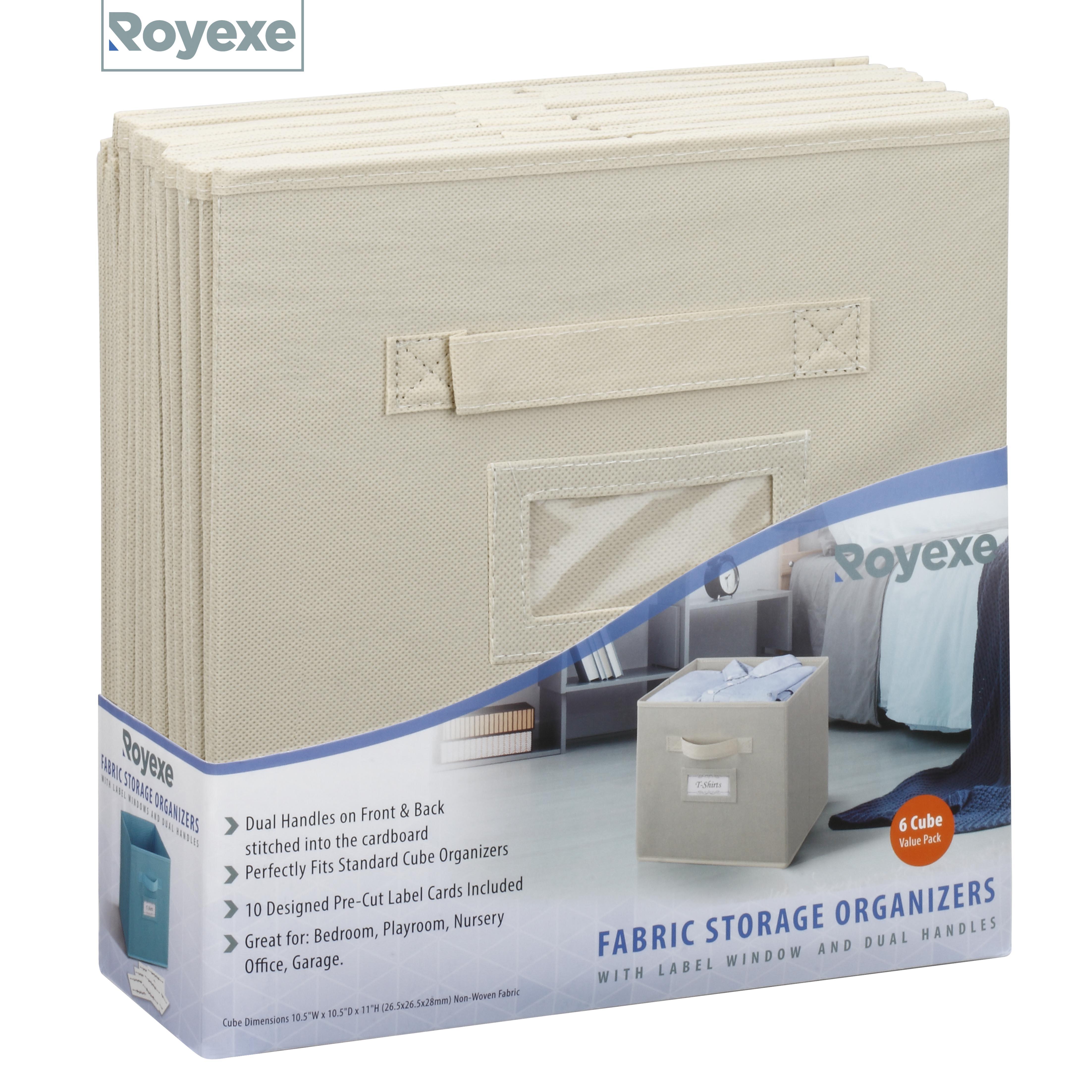 Fabric storage organizer (6)