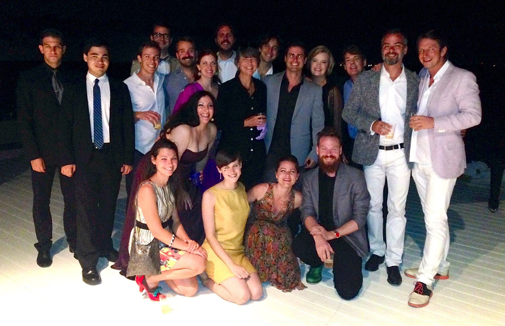 A group picture from Fire Island Opera Festival, August 2014. Daniel Lelchuk is on the far left and Eric Silberger is right next to him. Can you find me?
