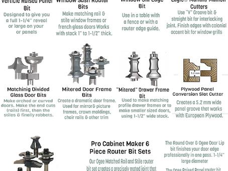 MLCS Door and Window Router Bit Guide