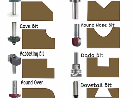 Printable Router Bit Cut Guide