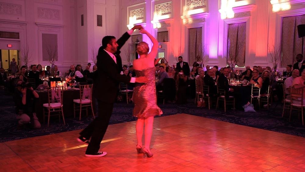 choreographed wedding dance