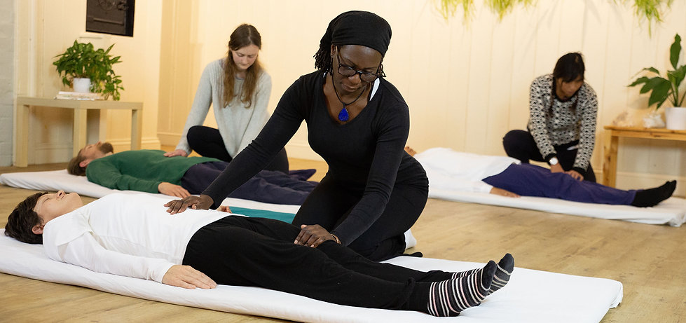Shiatsu and shin tai in Brixton therapy space