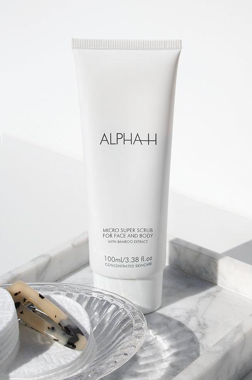 Alpha H Micro Cleanse Super Scrub